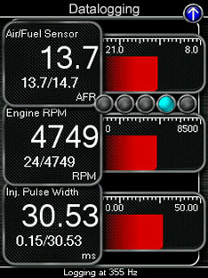 COBB V3 Accesport Data Logging