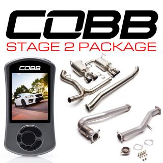 Subaru Stage 2 Power Package Titanium (Non-Resonated J-Pipe) WRX Sedan 6MT 2015-2020