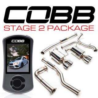 Subaru Stage 2 Power Package (Resonated J-Pipe) WRX 6MT 2015-2019