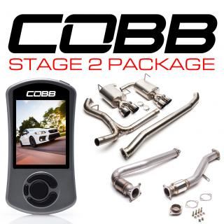 Subaru Stage 2 Power Package Titanium (Resonated J-Pipe) WRX Sedan 6MT 2015-2020