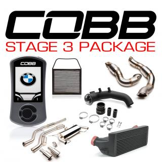 BMW N54 Stage 3 3-Series Power Package Black