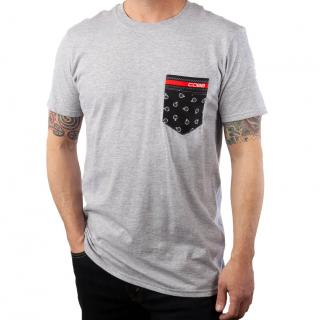 COBB Tuning Logo Grey Pocket T-Shirt
