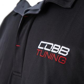 COBB Tuning Logo Polo Shirt - Men's Black