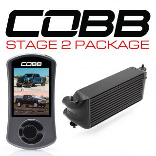 Ford Stage 2 Power Package Black (Factory Location Intercooler, No Intake) F-150 Ecoboost Raptor / Limited