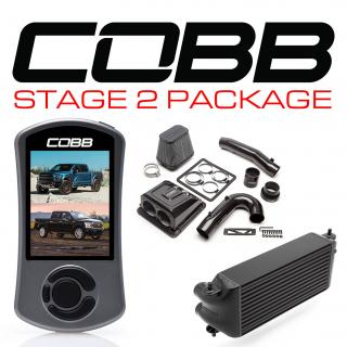 Ford Stage 2 Redline Carbon Fiber Power Package Black (Factory Location Intercooler) F-150 Ecoboost Raptor / Limited