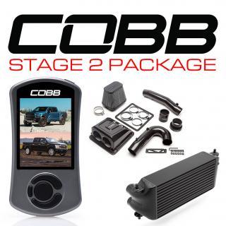 Ford Stage 2 Redline Carbon Fiber Power Package Black (Factory Location Intercooler) with TCM F-150 Ecoboost Raptor / Limited