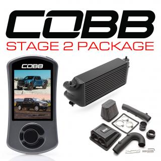 Ford Stage 2 Power Package Black (Factory Location Intercooler) with TCM F-150 Ecoboost Raptor / Limited