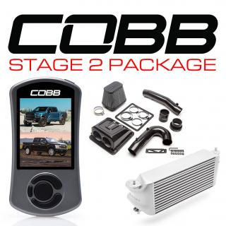 Ford Stage 2 Redline Carbon Fiber Power Package Silver (Factory Location Intercooler) with TCM F-150 Ecoboost Raptor / Limited