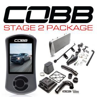 Ford Stage 2 Redline Carbon Fiber Power Package Silver with TCM F-150 Ecoboost 3.5L 2017-2019
