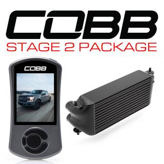 Ford Stage 2 Power Package Black (Factory Location Intercooler, No Intake) F-150 Ecoboost 3.5L 2017-2019
