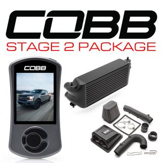 Ford Stage 2 Power Package Black (Factory Location Intercooler) F-150 Ecoboost 3.5L 2017-2019