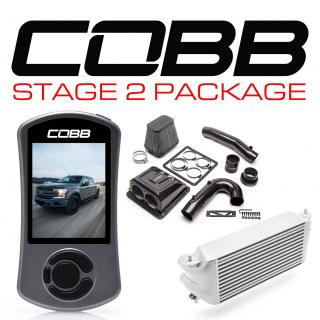 Ford Stage 2 Redline Carbon Fiber Power Package Silver (Factory Location Intercooler) F-150 Ecoboost 3.5L 2017-2019