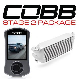 Ford Stage 2 Power Package Silver (Factory Location Intercooler, No Intake) with TCM F-150 Ecoboost 3.5L 2017-2019