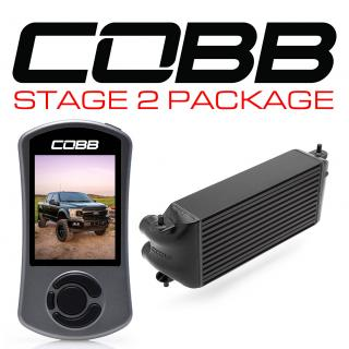 Ford Stage 2 Power Package Black (Factory Location Intercooler, No Intake) F-150 Ecoboost 3.5L 2020