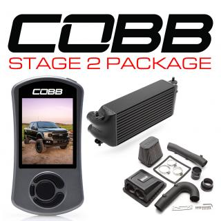 Ford Stage 2 Power Package Black (Factory Location Intercooler) F-150 Ecoboost 3.5L 2020