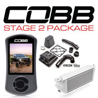 Ford Stage 2 Redline Carbon Fiber Power Package Silver (Factory Location Intercooler) F-150 Ecoboost 3.5L 2020