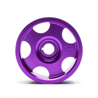Limited Edition Purple Subaru Main Pulley + Oil Cap + Battery Tie Down