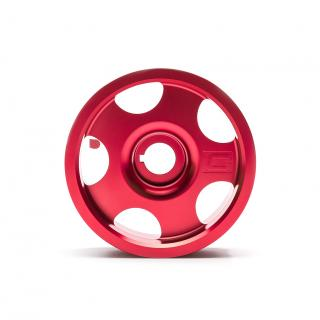 Limited Edition Red Subaru Main Pulley + Oil Cap + Battery Tie Down