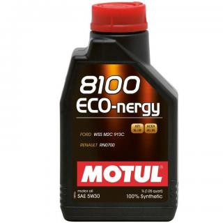 Motul 8100 5W30 Synthetic Eco-nergy Engine Oil 1L