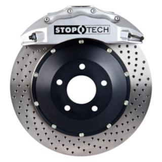 Stoptech ST-60 Big Brake Kit Front 355mm Silver Drilled Rotors Subaru STI 2005-2014