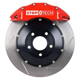 Stoptech ST-60 Big Brake Kit Front 355mm Red Slotted Rotors Subaru STI 2005-2014