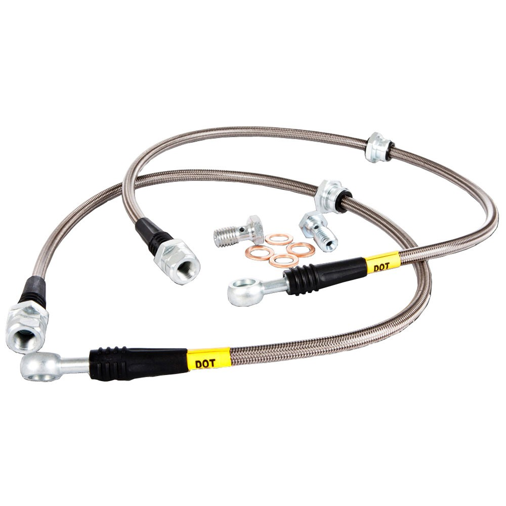Stoptech Stainless Steel Front Brake Lines Ford Focus ST 2013-2015